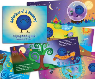 Children's Book Digital Illustrations - Unscribbled: Web, Graphic and Communication Solutions