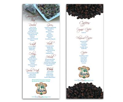 Menu Design - Unscribbled: Web, Graphic and Communication Solutions