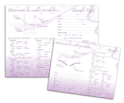 Sales Forms - Unscribbled: Web and graphic design solutions