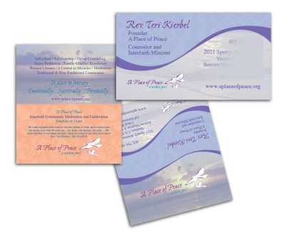Business Cards - Unscribbled Web and Graphic Design Solutions