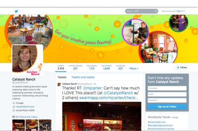 Twitter Background Design - Unscribbled Graphic and Web Design