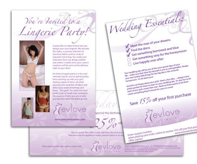 Promotional Material - Unscribbled Web and Graphic Design