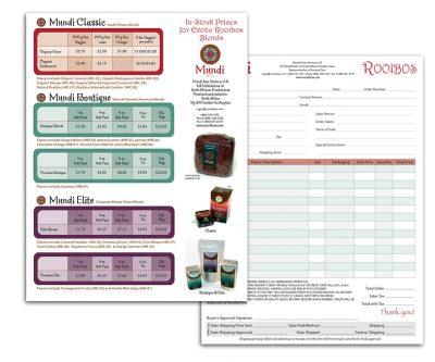 Order Form Graphic Design - Unscribbled