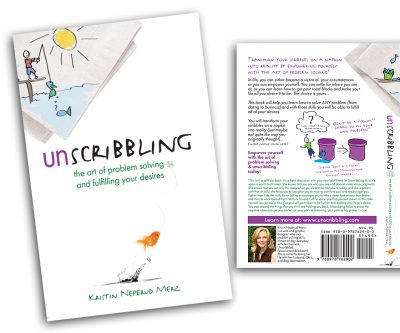 Book Cover Design - Unscribbling