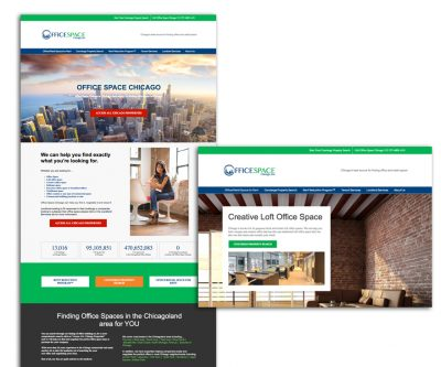 Office Space Chicago Website Design