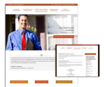Website Design - CDL Real Estate Academy