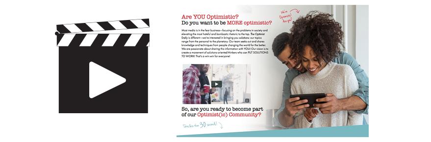 Video Animation - Optimist Daily Promise