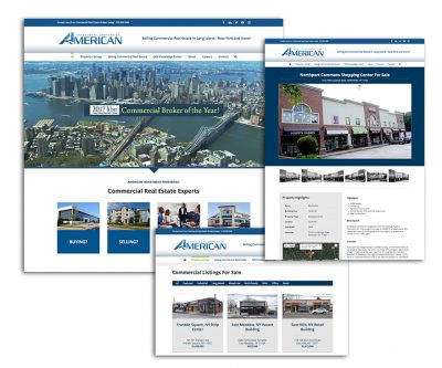 Website Design -American Investment Properties - Unscribbled: Web and Graphic Design