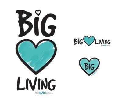 Logo Branding - Big Heart Living
