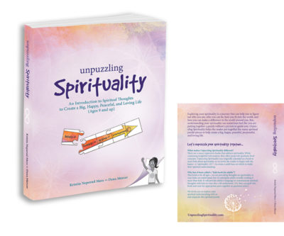 Book Cover Design Unpuzzling Spirituality