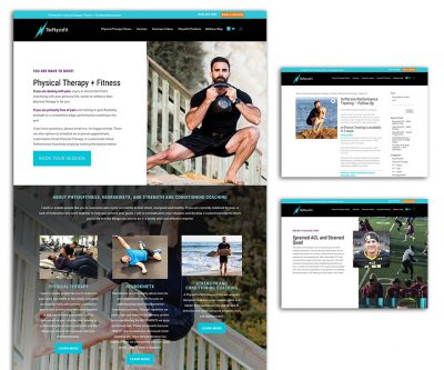 Website Design - ThePhysioFit